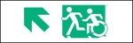 Accessible Exit Sign Project Running Man Wheelchair Wheelie Man Symbol Accessible Means of Egress Icon Exit Sign 17