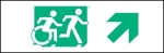 Accessible Exit Sign Project Running Man Wheelchair Wheelie Man Symbol Accessible Means of Egress Icon Exit Sign 35