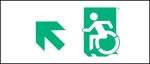 Accessible Exit Sign Project Wheelchair Wheelie Man Symbol Accessible Means of Egress Icon Exit Sign 18