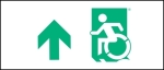Accessible Exit Sign Project Wheelchair Wheelie Man Symbol Accessible Means of Egress Icon Exit Sign 27