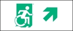Accessible Exit Sign Project Wheelchair Wheelie Man Symbol Accessible Means of Egress Icon Exit Sign 36