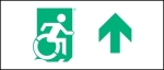 Accessible Exit Sign Project Wheelchair Wheelie Man Symbol Accessible Means of Egress Icon Exit Sign 45
