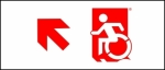 Accessible Exit Sign Project Wheelchair Wheelie Man Symbol Accessible Means of Egress Icon Exit Sign 58