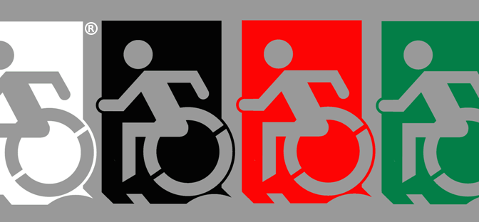 Accessible Means of Egress colour options 2