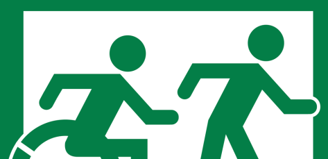 Detail of Movement of Running Man and Wheelie Man