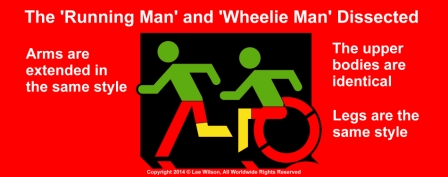The Running Man and Wheelie Man Dissected
