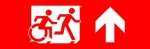 Accessible Exit Sign Project Running Man Wheelchair Wheelie Man Symbol Accessible Means of Egress Icon Exit Sign 114