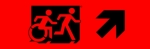 Accessible Exit Sign Project Running Man Wheelchair Wheelie Man Symbol Accessible Means of Egress Icon Exit Sign 91