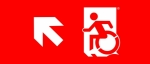 Accessible Exit Sign Project Wheelchair Wheelie Man Symbol Accessible Means of Egress Icon Exit Sign 60