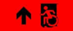 Accessible Exit Sign Project Wheelchair Wheelie Man Symbol Accessible Means of Egress Icon Exit Sign 73