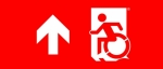 Accessible Exit Sign Project Wheelchair Wheelie Man Symbol Accessible Means of Egress Icon Exit Sign 78
