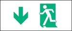 Accessible Exit Sign Project Running Man Exit Sign 25