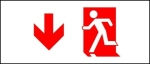 Accessible Exit Sign Project Running Man Exit Sign 27