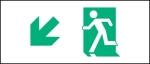 Accessible Exit Sign Project Running Man Exit Sign 5