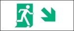 Accessible Exit Sign Project Running Man Exit Sign 65