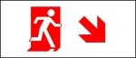 Accessible Exit Sign Project Running Man Exit Sign 67