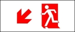 Accessible Exit Sign Project Running Man Exit Sign 7