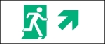 Accessible Exit Sign Project Running Man Exit Sign 75