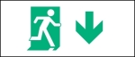Accessible Exit Sign Project Running Man Exit Sign 85