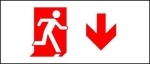 Accessible Exit Sign Project Running Man Exit Sign 87