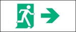 Accessible Exit Sign Project Running Man Exit Sign 95