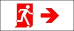 Accessible Exit Sign Project Running Man Exit Sign 97