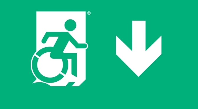 Accessible Means of Egress Page Header, part of the Accessible Exit Sign Project