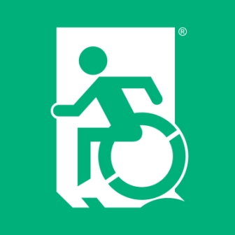 Accessible Means of Egress Icon