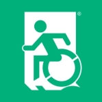 Accessible Exit Sign Project Accessible Means of Egress Icon