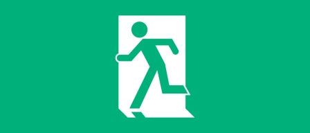 Accessible Exit Sign Project Running Man Exit Sign 6