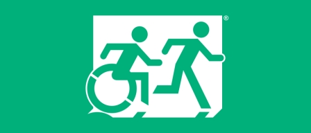 Accessible Exit Sign Project Buildings Need Signage To Identify