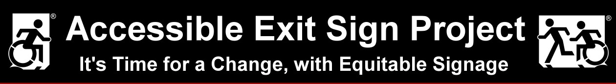 Accessible Exit Sign Project