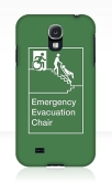Accessible Exit Sign Project Wheelchair Wheelie Man Symbol Means of Egress Icon Disability Emergency Evacuation Fire Safety Chair Samsung Galaxy Case 2