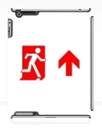 Running Man Fire Safety Exit Sign Emergency Evacuation Apple iPad Tablet Case 116