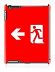 Running Man Fire Safety Exit Sign Emergency Evacuation Apple iPad Tablet Case 138