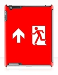 Running Man Fire Safety Exit Sign Emergency Evacuation Apple iPad Tablet Case 139
