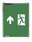 Running Man Fire Safety Exit Sign Emergency Evacuation Apple iPad Tablet Case 14