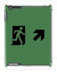 Running Man Fire Safety Exit Sign Emergency Evacuation Apple iPad Tablet Case 140