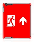 Running Man Fire Safety Exit Sign Emergency Evacuation Apple iPad Tablet Case 144