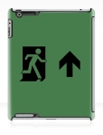 Running Man Fire Safety Exit Sign Emergency Evacuation Apple iPad Tablet Case 146