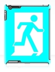 Running Man Fire Safety Exit Sign Emergency Evacuation Apple iPad Tablet Case 20