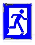 Running Man Fire Safety Exit Sign Emergency Evacuation Apple iPad Tablet Case 23