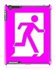 Running Man Fire Safety Exit Sign Emergency Evacuation Apple iPad Tablet Case 30