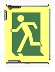 Running Man Fire Safety Exit Sign Emergency Evacuation Apple iPad Tablet Case 33