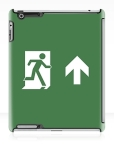 Running Man Fire Safety Exit Sign Emergency Evacuation Apple iPad Tablet Case 35