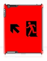 Running Man Fire Safety Exit Sign Emergency Evacuation Apple iPad Tablet Case 36