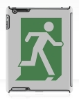 Running Man Fire Safety Exit Sign Emergency Evacuation Apple iPad Tablet Case 39