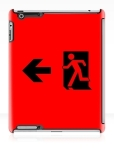 Running Man Fire Safety Exit Sign Emergency Evacuation Apple iPad Tablet Case 43