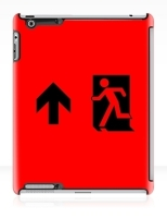 Running Man Fire Safety Exit Sign Emergency Evacuation Apple iPad Tablet Case 44