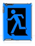 Running Man Fire Safety Exit Sign Emergency Evacuation Apple iPad Tablet Case 5